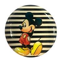 """Попсокет PopSocket 3D """"Микки Маус"""" №2 - Держатель для телефона Поп Сокет в блистере с липучкой 3М"""