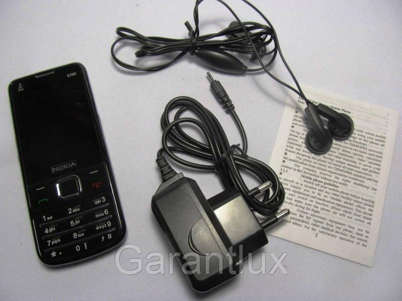 Телефон Nokia 6700 Tv NOAL 2 сим в металлическом корпусе - Garantlux в Харькове