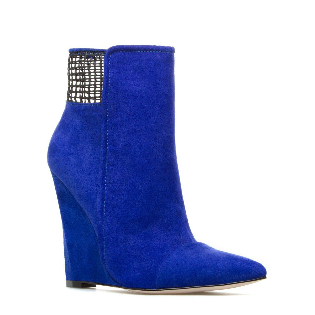 Ботильоны Shoe Dazzle Womens Sadami Blue