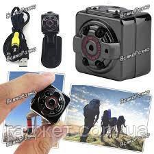 SQ8 Мини видео камера Full HD! Ночная подсветка!