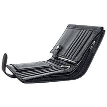 Мужской кожаный кошелек Salfeite F503 black, фото 2