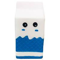 Мягкая игрушка антистресс Сквиши Squishy Пакет с молоком с запахом №28