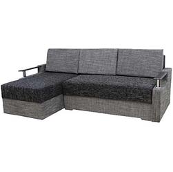 Угловой диван Garnitur.plus Микс серый 230 см