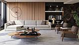 Модульный диван с глубокой посадкой LAGUNA фабрика ALBERTA (Италия), фото 6