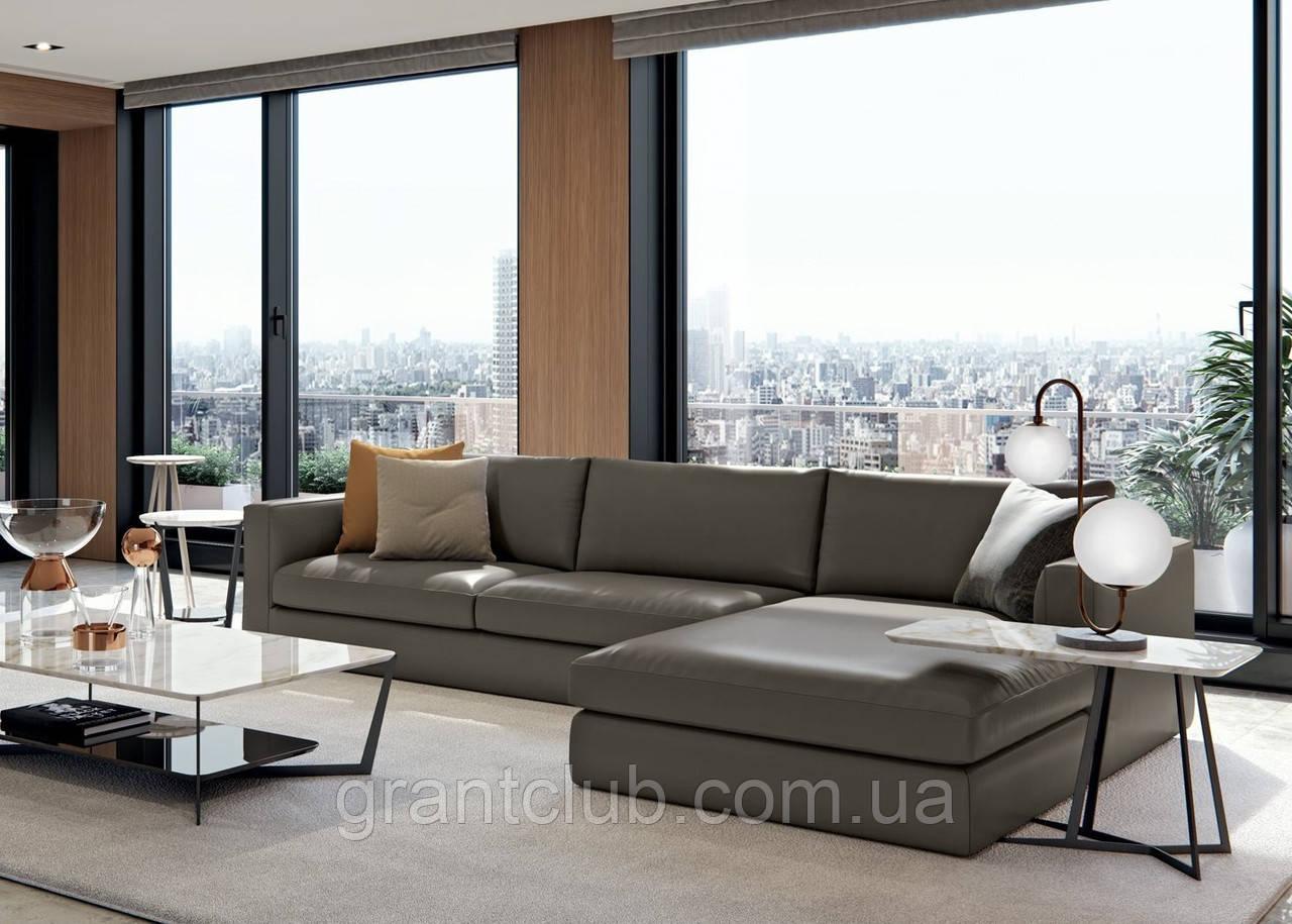 Модульный диван с глубокой посадкой LAGUNA фабрика ALBERTA (Италия)