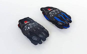 Мотоперчатки текстильные с закрытыми пальцами и протектором SCOYCO (СКИДКА НА р. L) MС09-BK OF, фото 2