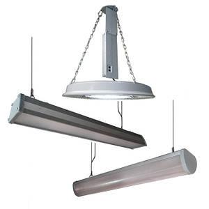 Светильники для промышленных помещений, влагостойкие