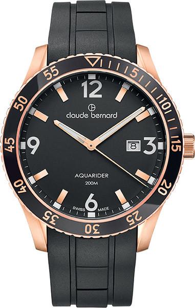 Мужские часы Claude Bernard 53008 37RNCA NIR
