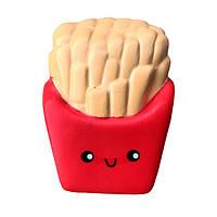 Мягкая игрушка антистресс Сквиши Squishy Картошка Фри