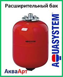 Расширительный бак Aquasystem VR 12 (красный)