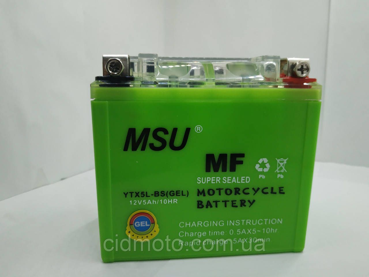 Аккумулятор 12v 5a/h MSU