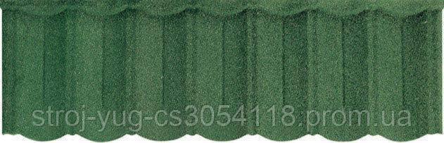 Зеленая Композитная черепица Roser Spany Blade Green