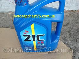 Масло Zic X5 10w-40  4 л,  полусинтетика (производитель Южная Корея)