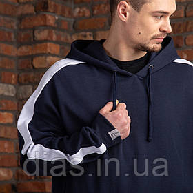 """Синя спортивна чоловіча кофта """"DIAS"""""""