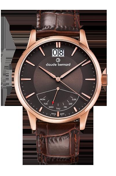 Мужские часы Claude Bernard 41001 37R BRIR