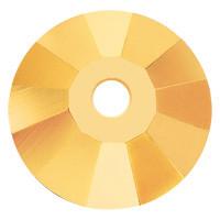 Пришивні паєтки кришталеві Preciosa (Чехія) 3 мм Crystal Aurum U