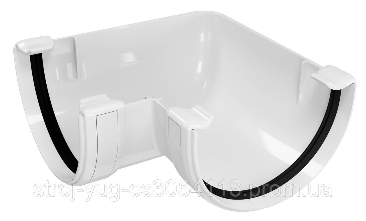 Угол желоба внутренний/наружный 90 градусов Regenau белый