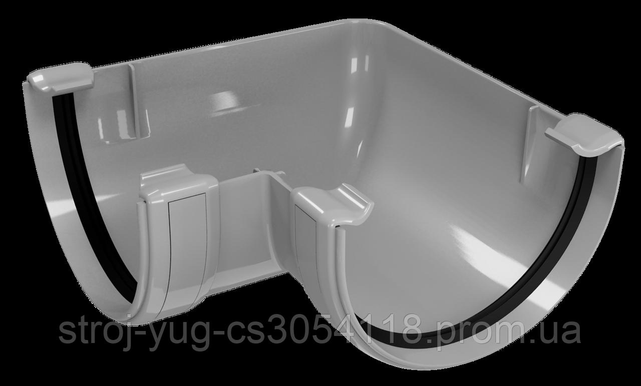 Угол желоба внутренний/наружный 90 градусов Regenau серый