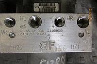 Блок управления ABS АБС 0265216478 Opel Combo 1.3CDTi 1.7TDi 2005 года