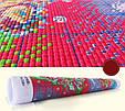 Цветы и бабочка H677/15 Набор для вышивки крестом с печатью на ткани 14ст, фото 3