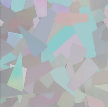 SMTF Hologram Crystal Silver SHO14 0.50 m (Голографическая серебристая пленка)