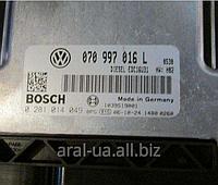 Блок управления двигателем 070997016L VW T5 Transporter Multivan Caravella 2004-2010года