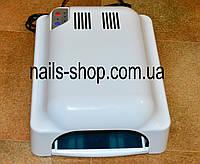 Уф лампа индукционная 828 с вентилятором для наращивания ногтей  36 Вт белая