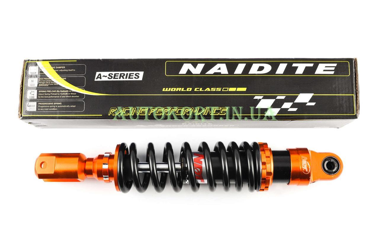 Амортизатор   GY6   330mm, тюнинговый   (оранжево-черный)   NDT