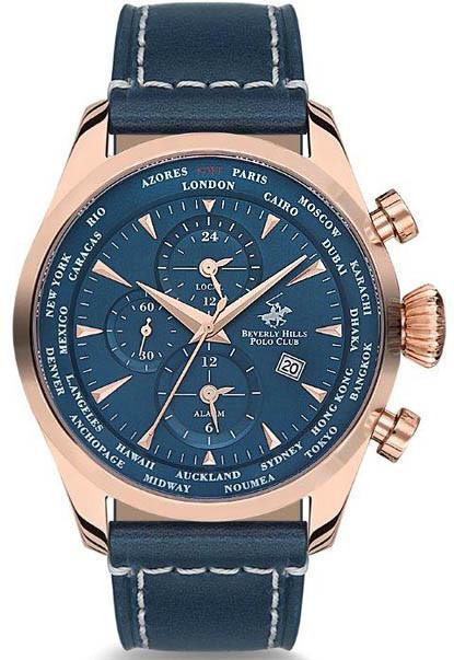 Мужские часы Beverly Hills Polo Club BH9001-03P