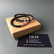 Набір браслетів I&M Craft з шунгита (141040)