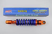 Амортизатор   GY6, DIO, TACT   270mm, тюнинговый   (оранжево-синий)   NDT