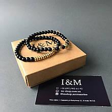 Набір браслетів I&M Craft з шунгита (141039)