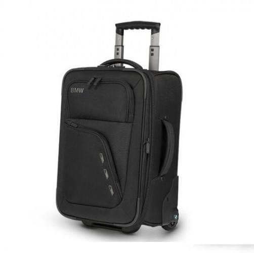 Оригинальный чемодан BMW Modern Trolley 22 Inch, Black, артикул 80222365439