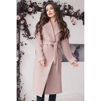 Пальто жіноче Даніель бежевого кольору