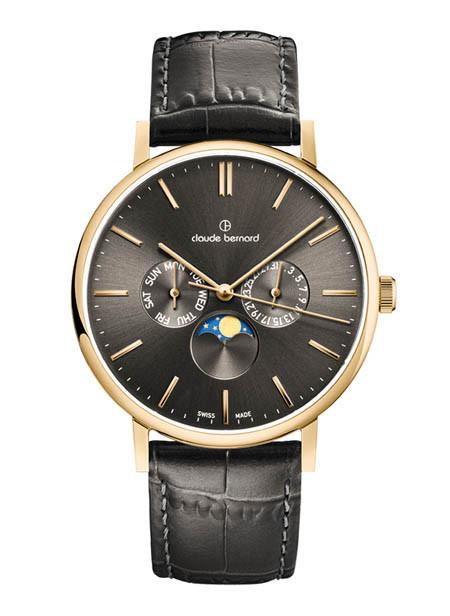 Мужские часы Claude Bernard 40004 37J GID