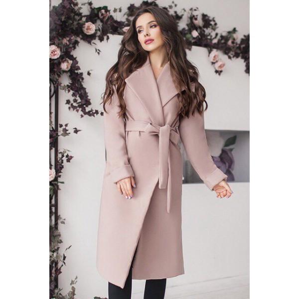 Женское пальто Даниель бежевого цвета