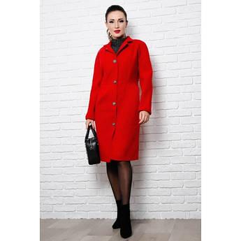 Червоне пальто жіноче Тереза