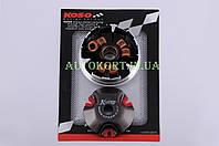 Вариатор передний (тюнинг)   Yamaha JOG 90, 2T Stels 50   (медно-граф. втулка, р. латунь)   KOSO