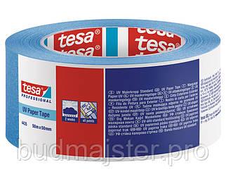 Стрічка малярна Tesa Professional стійка до УФ-променів 50 мм, 50 м