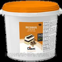 Гель кондитерський шоколадний Dawn Dekorgel 3кг/відро