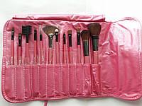 Подарок день св валентина SHANY Набор кистей для макияжа 12 Piece PINK