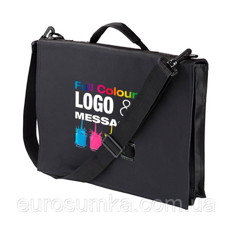 Мужская сумка с логотипом от 50 шт.