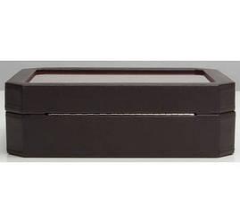 Шкатулки для хранения Wolf 458406 Windsor 10 pc Watch Box Brn/Or