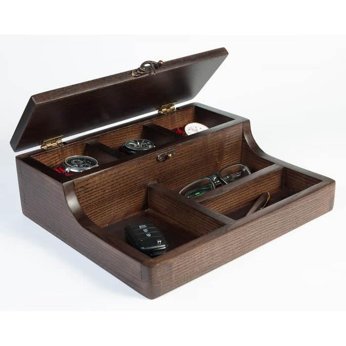 Шкатулки для подзавода Hetch Шкатулка из дерева для часов и аксессуаров Dabo Hetch DS5-2