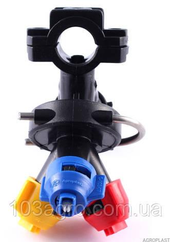 Форсунка 3-х опзиційна PROLINE (Стандарт RAU) 07 на трубу 25 мм, фото 2