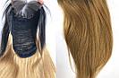 ✨ Натуральный парик ровный с отросшими черными корнями ✨, фото 7