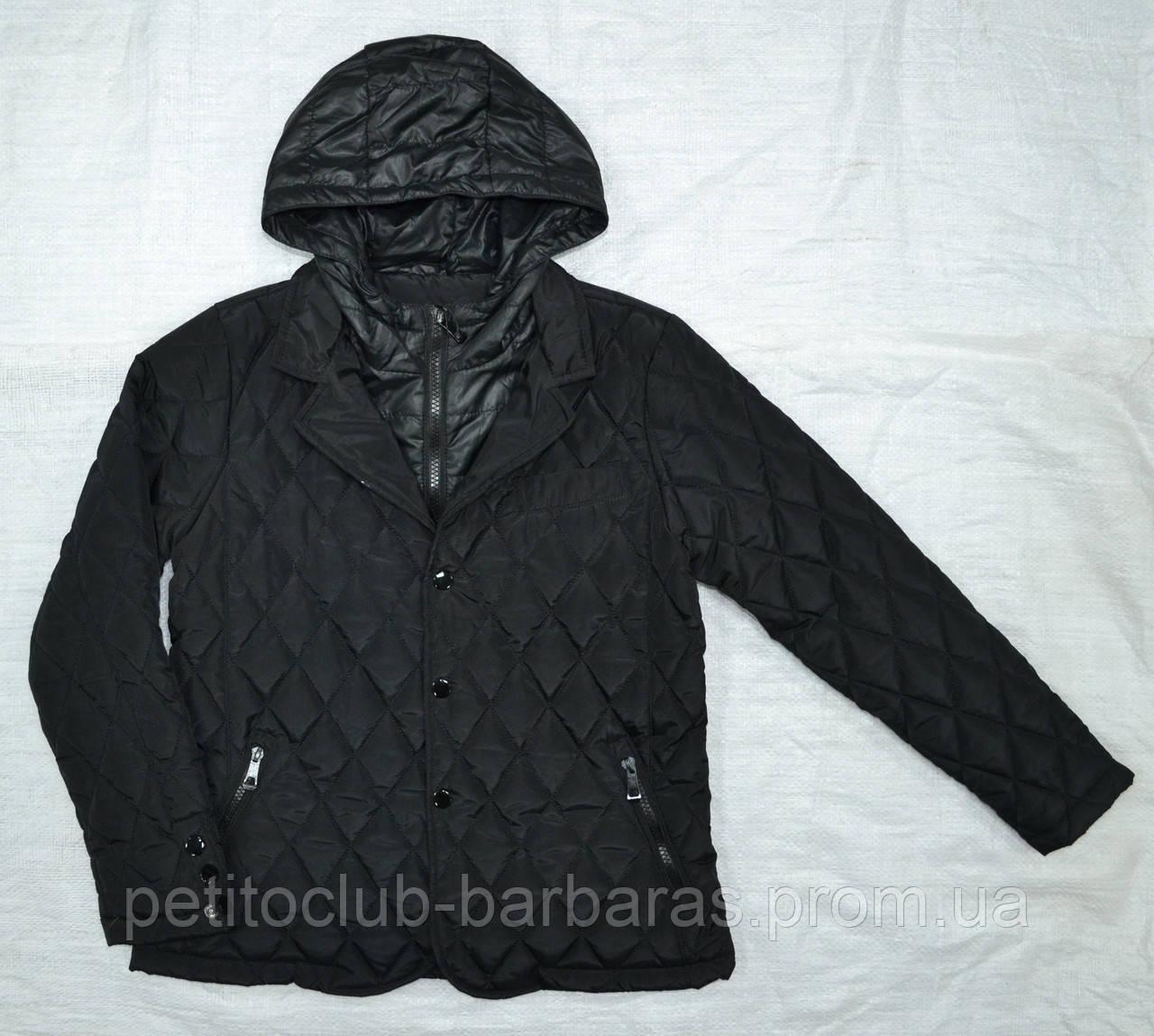 Куртка демисезонная для мальчика Seagull NEW'S черная (Seagull, Венгрия)