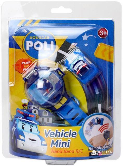 Часы Robocar Poli с мини-машинкой, 2 вида, c USB зарядкой