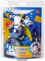Часы Robocar Poli с мини-машинкой, 2 вида, c USB зарядкой, фото 1