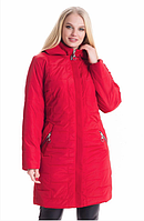 Демисезонная куртка женская весна-осень деми в большом размере недорого Украина р. 52-70